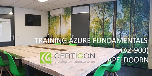 TRAINING AZURE FUNDAMENTALS (AZ-900) IN APELDOORN - 28 april 2020