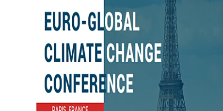 Euro-Global Climate Change Conference tickets