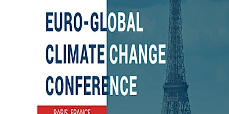 Euro-Global Climate Change Conference billets