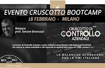 BOOTCAMP CRUSCOTTO DI CONTROLLO, Milano, 28 febbraio biglietti