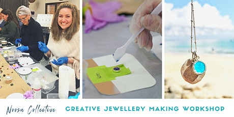 Jewellery Making Workshop - Create your own unique gemstone and necklace tickets