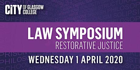 Law Symposium : Restorative Justice tickets