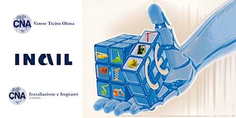 Nuove procedure INAIL per denunce e verifiche degli impianti biglietti