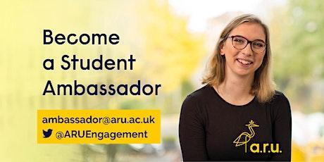 Student Ambassador Training (CHELMSFORD) tickets