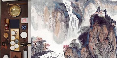 Wasserfall - Chinesische Tuschmalerei tickets