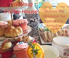 Mother's Day Gin in Teacups Afternoon Tea