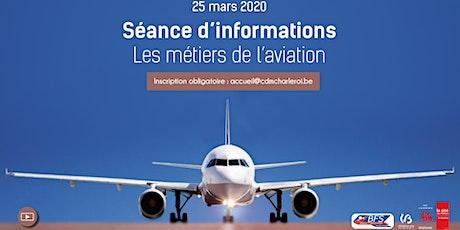 Séance d'informations - Pilote de ligne tickets
