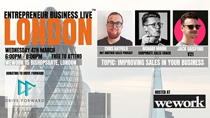 Entrepreneur Business Live London City - 4th March 2020 tickets