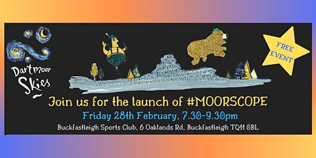 The launch of #MOORSCOPE tickets