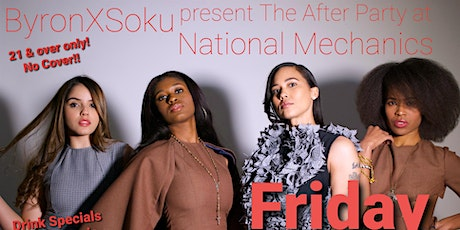 ByronXSoku: The Afteparty at National Mechanics tickets