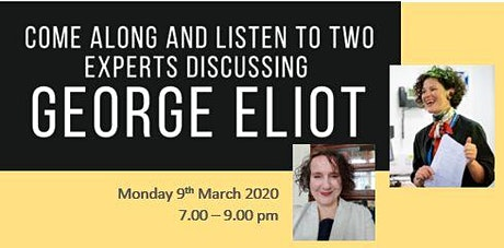 Come along and listen to two experts discuss George Eliot tickets