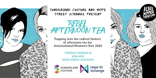 Rebel Afternoon Tea  for International Women's Day