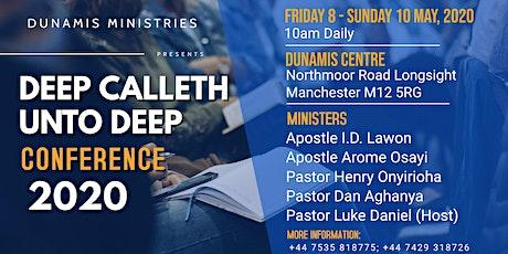Deep Calleth Unto Deep Conference tickets