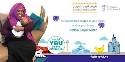 Fostering Information Event - Liverpool City Council and The Arabic Centre
