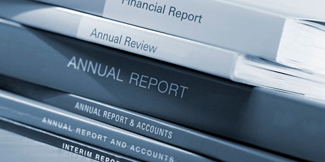 Developing an Effective Annual Report tickets