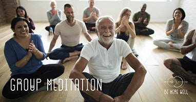 Group Meditation Free/By Donation (on the door)
