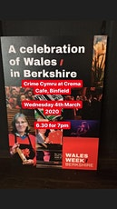 Crime Cymru at Crema, Binfield for Wales Week Berkshire tickets
