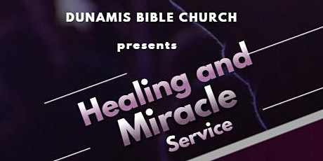 Healing and Miracle Service tickets