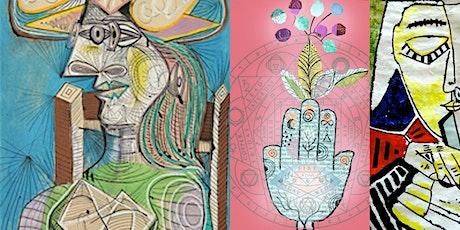 Picasso Inspired Collage Art Workshop billets