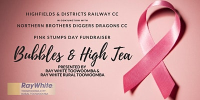 Pink Stumps Day High Tea - Presented by Ray White Toowoomba