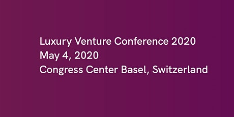 Luxury Venture Conference 2020 tickets