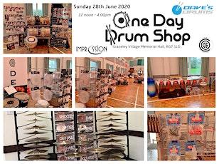 Summer One Day Drum Shop tickets