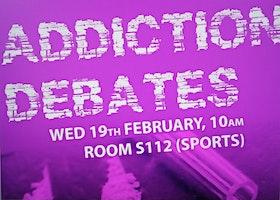 Addiction Debates with Professor Catherine Comiskey