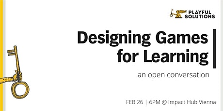 WORK&PLAY: Designing Games for Learning – The Elephant in the Room  tickets