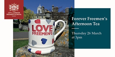 Forever Freemen's Afternoon Tea