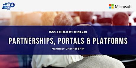 Partnerships, Portals & Platforms - Manchester tickets