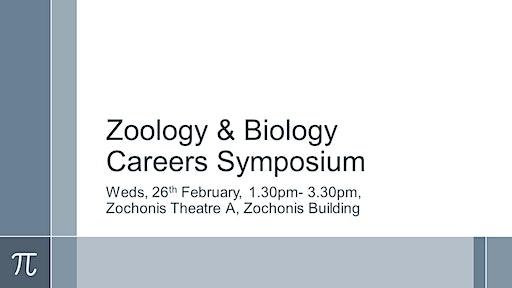 Zoology & Biology Careers Symposium