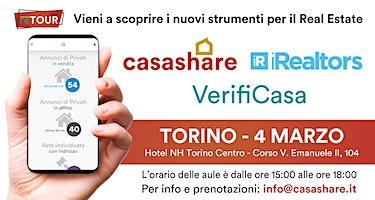 Aula formativa con Casashare, iRealtors e VerifiCasa a Torino