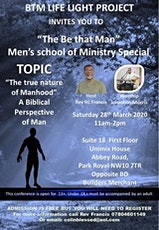 BE THAT MAN MEN'S SCHOOL OF MINSTRY SPECIAL tickets