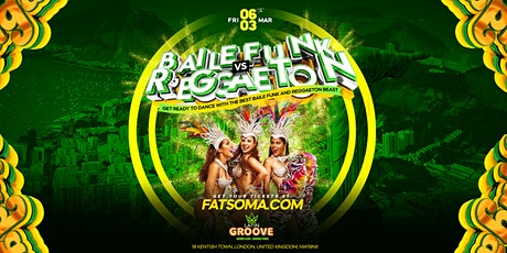 Baile Funk Vs Reggaeton tickets