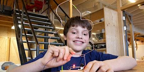 Soldeerworkshop: soldeer je eigen bibberspiraalspel tickets