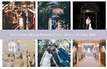 De Courceys Manor Wedding Fayre - Sunday 26 April 2020 tickets