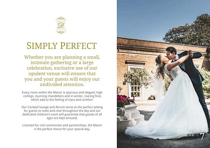 De Courceys Manor Wedding Fayre - Sunday 17th October 2021 image