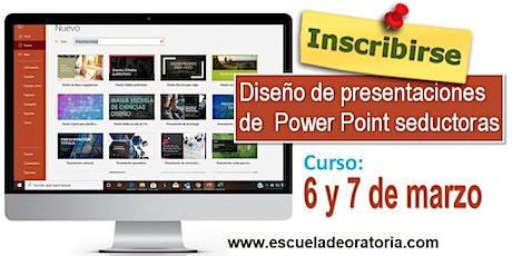 Diseño de presentaciones de Power Point seductoras entradas