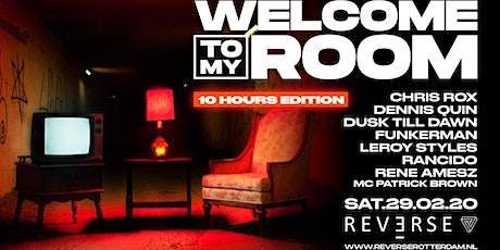 Welcome To My Room 10 hours edition tickets