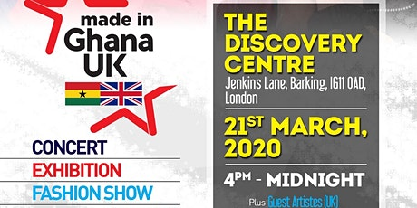 4TH MADE IN GHANA UK LONDON 2020 tickets