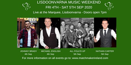 Lisdoonvarna Music Weekend tickets