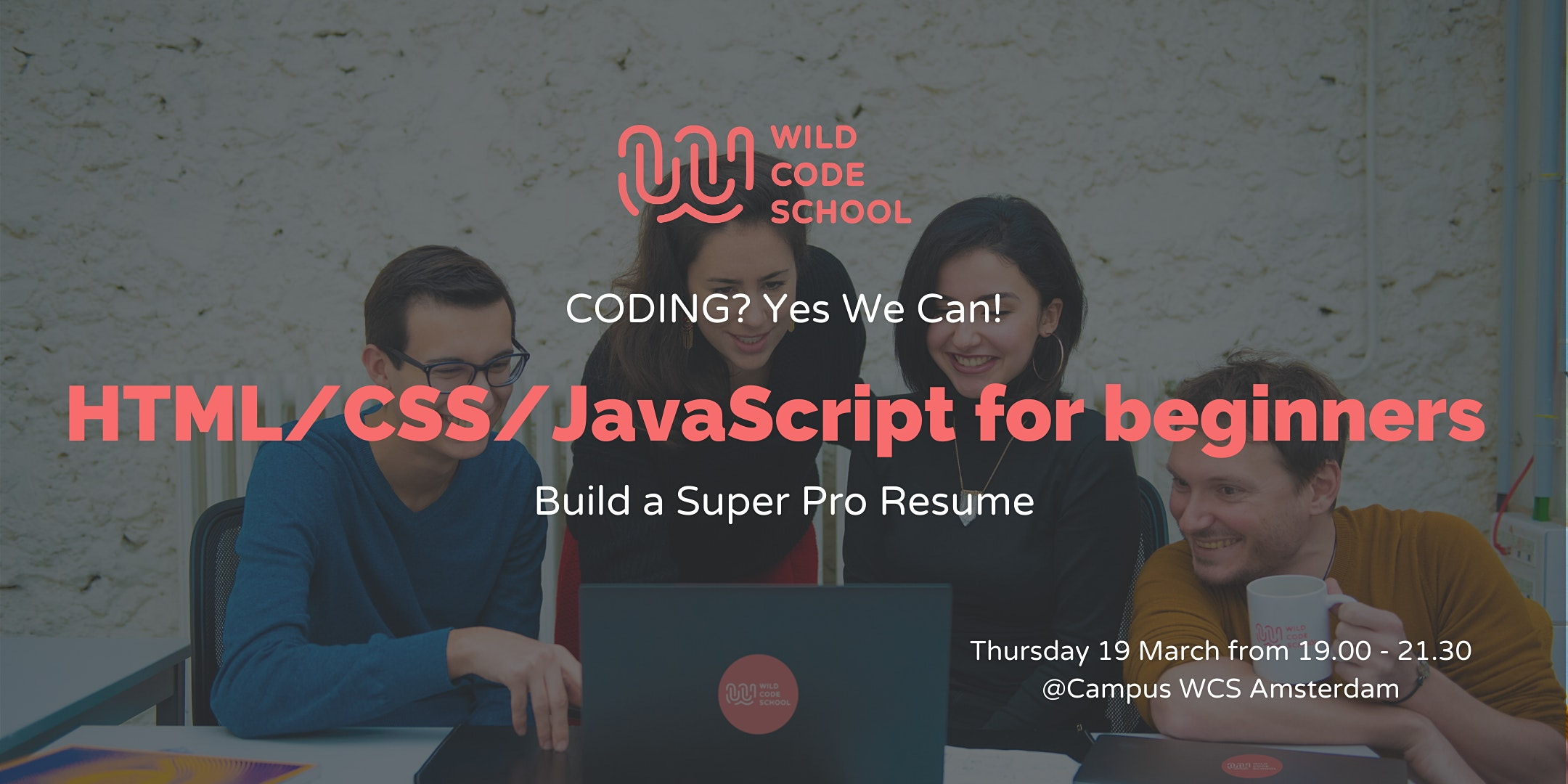 Coding? Yes we can! Build a Super Pro CV with HTML/CSS and JavaScript