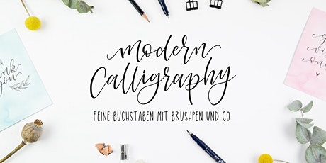 Brushlettering - Modern Calligraphy Style Tickets