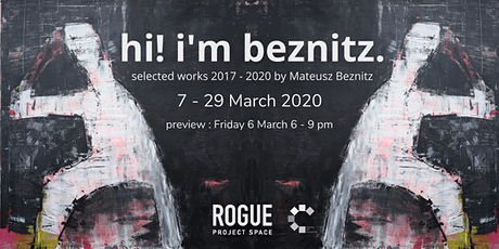 hi! i'm beznitz. selected works 2017 - 2020 by Mateusz Beznitz PREVIEW tickets