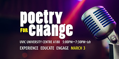Poetry for Change (Ideafest 2020) tickets