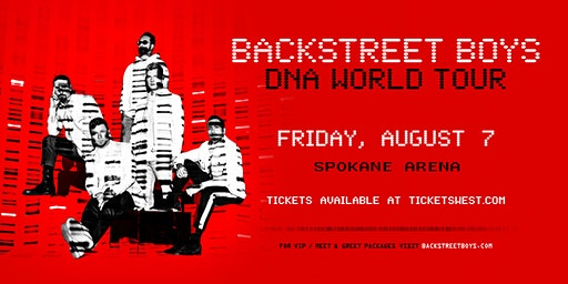 Backstreet Boys DNA World Tour