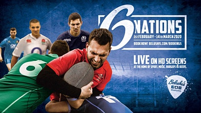 Watch Six Nations live at Belushi's! tickets