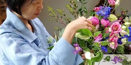 Learn to make a Seasonal Hand Tied Bouquet tickets