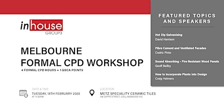 Melbourne Formal CPD Workshop tickets