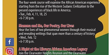 Stories of Growing up African American in Clearwater tickets